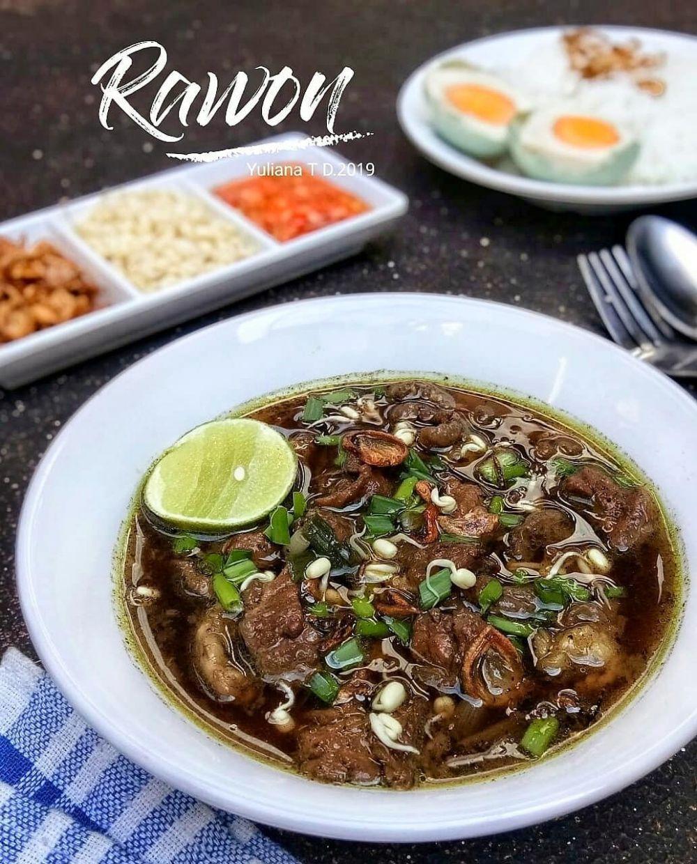 Resep Rawon Kambing Resep Masakan Resep Masakan
