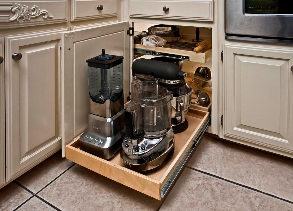 Plus De 30 Idees Uniques De Rangement Dans La Cuisine Que Vous Pouvez Appliquer Dans Kitchen Cabinet Storage Kitchen Cabinet Accessories Corner Kitchen Cabinet