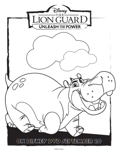 Disney The Lion Guard Free Coloring | gra | Pinterest | Guardia del ...