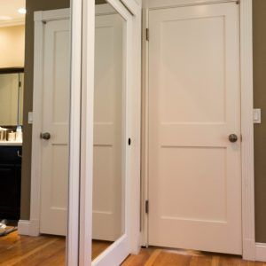 Elegant Wood Closet Doors Istranka Intended For Measurements 865 X 1024 Wood Framed  Mirrored Closet Sliding Doors   Sliding Closet Doors Or Bypass Doors Are A  Exce