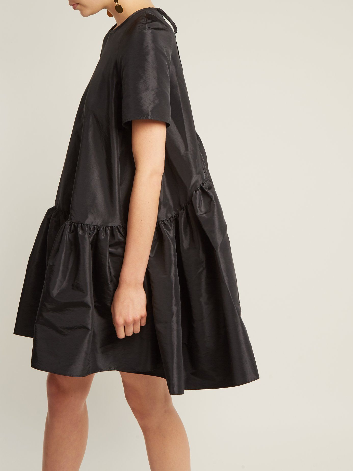 bd619fc0c9c7b This black Annabella dress sees Cecilie Bahnsen bring a contemporary edge  to the classic baby-