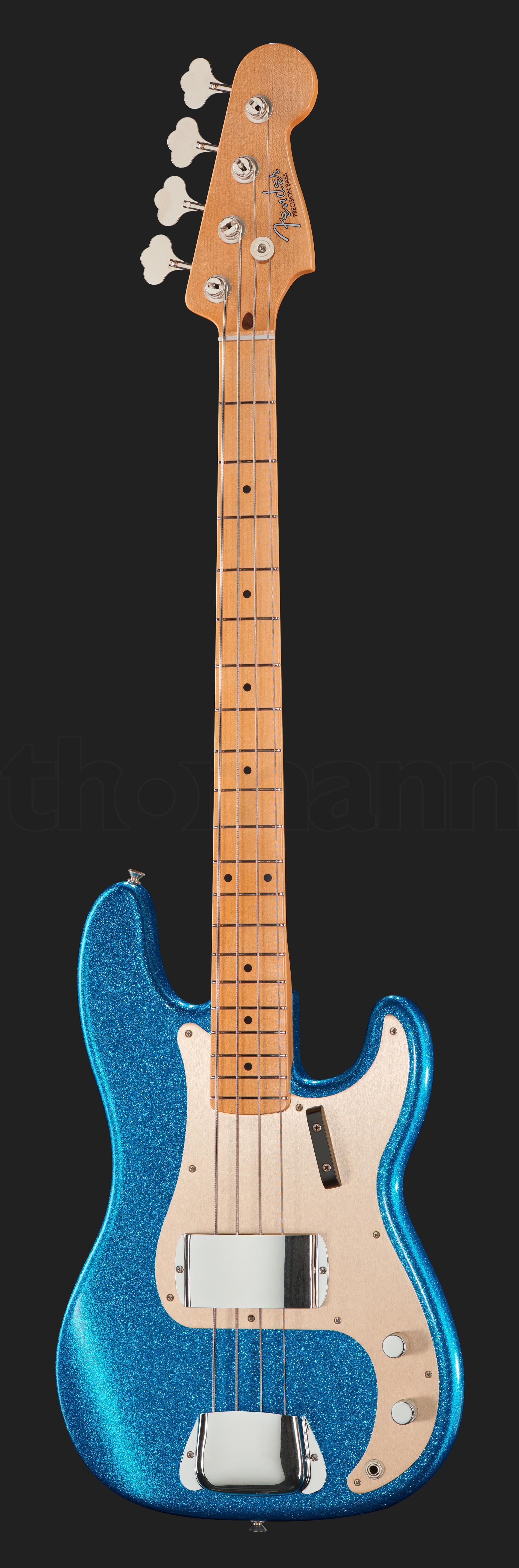 Fender 59 P-Bass CC Blue Sparkle