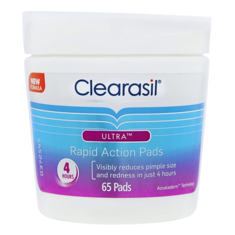 Buy Clearasil Ultra Rapid Action Face Wipe Pads 65 Online At