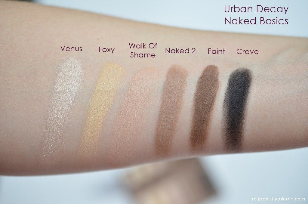 Naked Basics Eyeshadow  Palette by Urban Decay #4