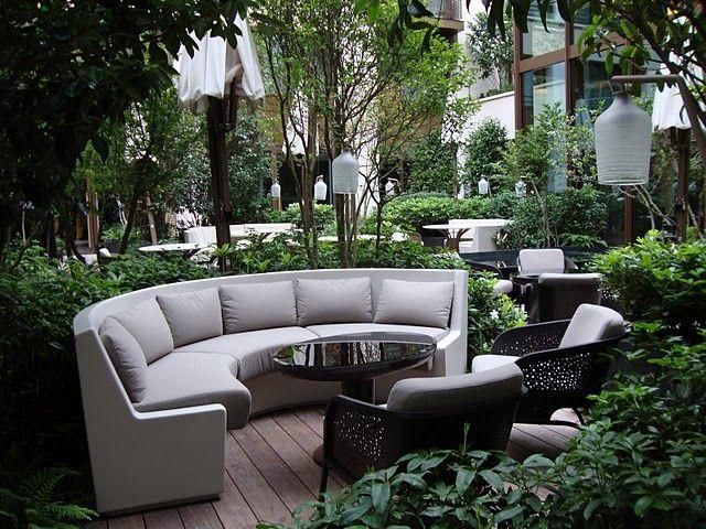 Le jardin japonais du mandarin oriental 251 rue saint for Le jardin oriental