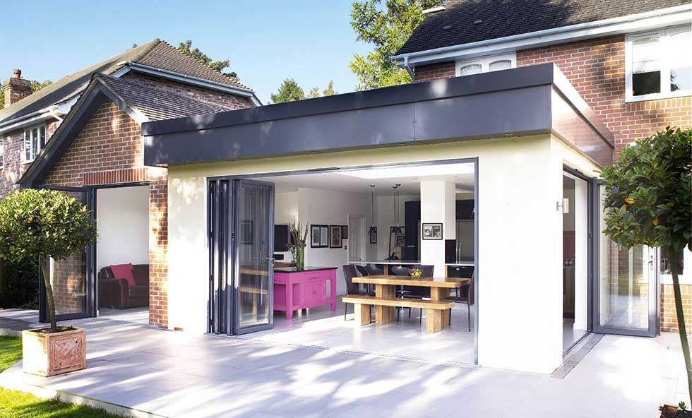 Find out how to design a single storey extension that for Single storey bungalow design