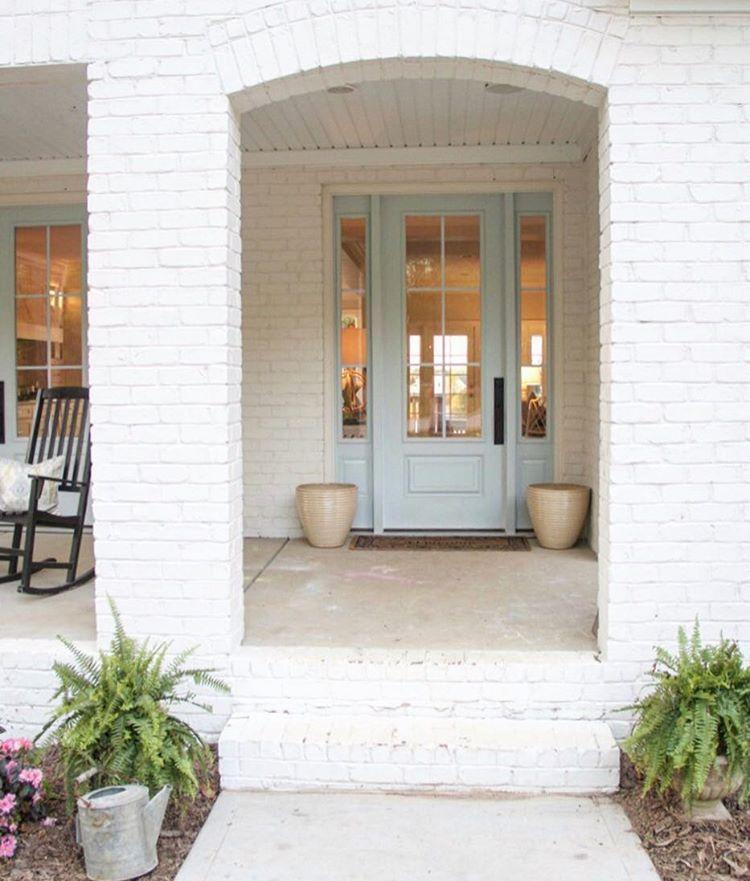 door color... Itu0027s a custom mix of 50/50 BM Wales gray & door color... Itu0027s a custom mix of 50/50 BM Wales gray and pale ... pezcame.com