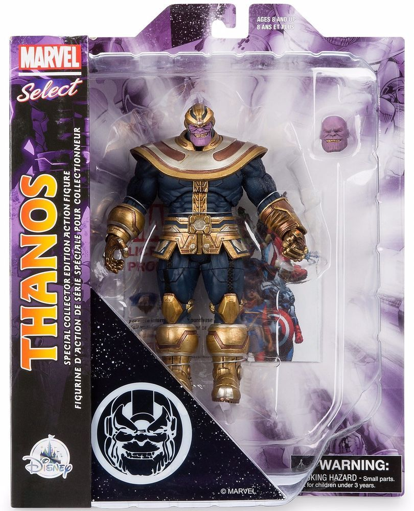 NEW Marvel Diamond Select Thanos Disney Store Exclusive