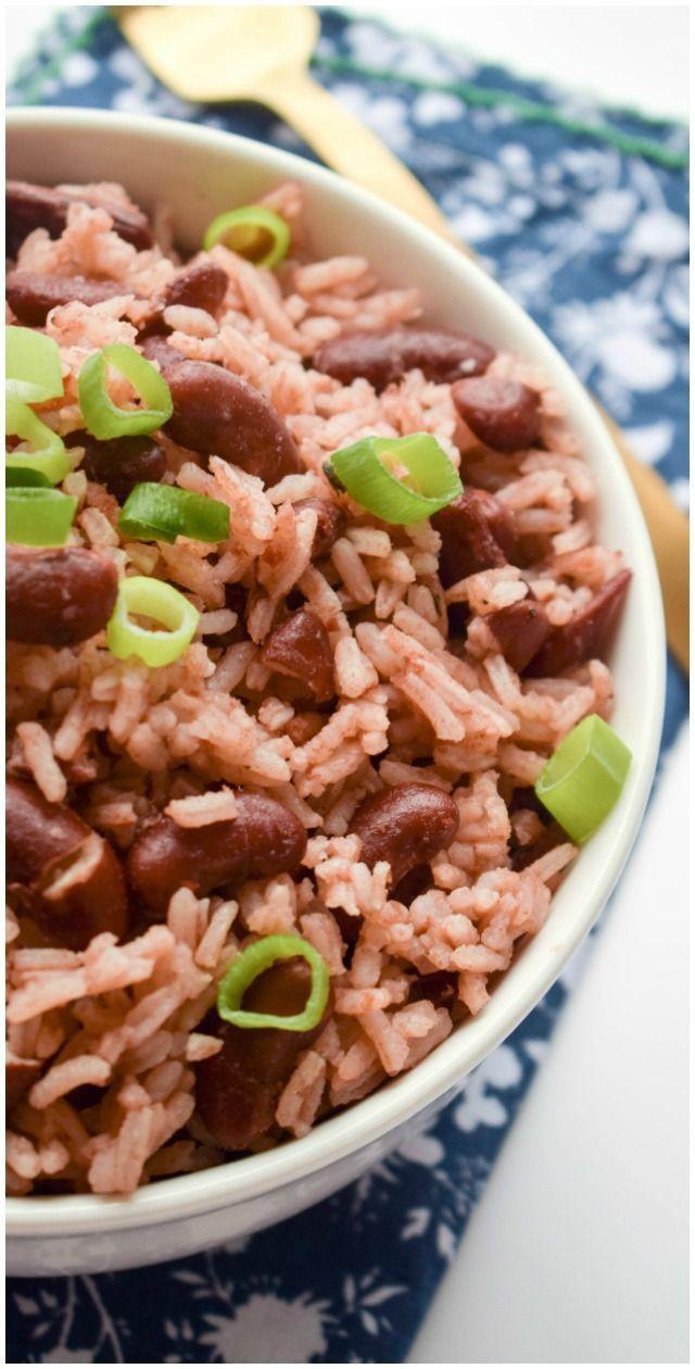jamaican rice and peas  recipe  pea recipes rice peas