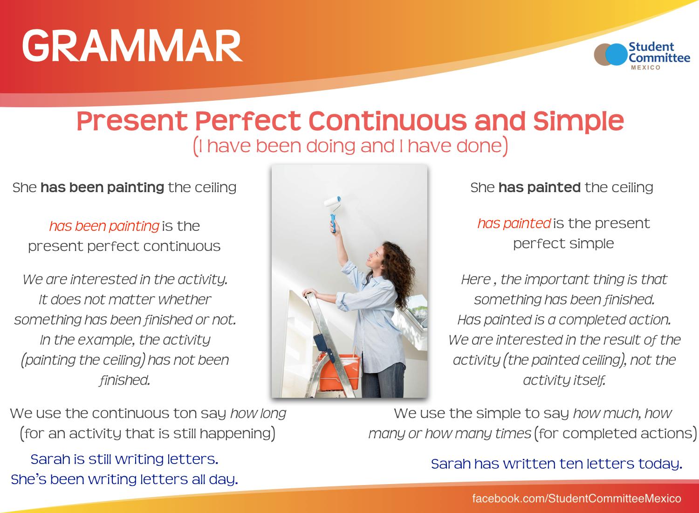 P P Continuous P P Simple Grammar