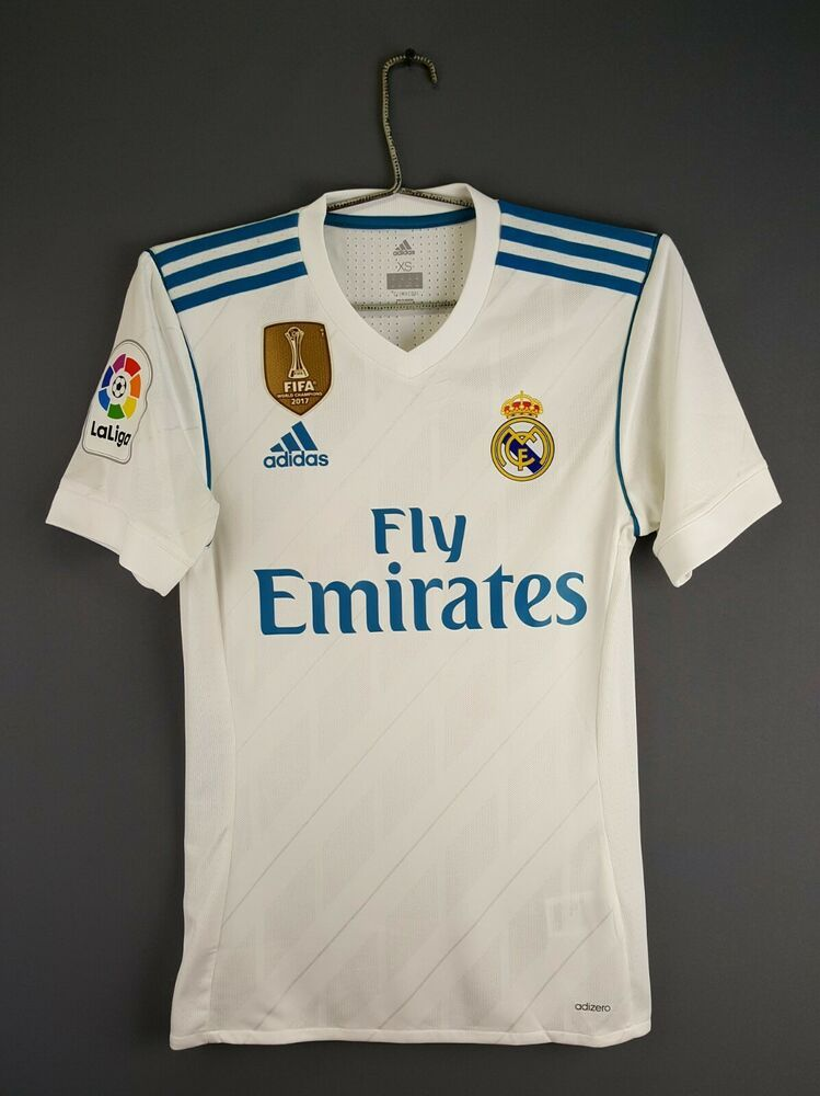 timeless design 9ac1b abf93 Advertisement(eBay) 5/5 Real Madrid jersey adizero XS 2018 ...