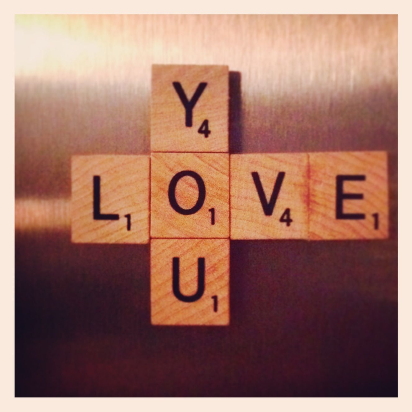 Scrabble letter craft with my girl:) | Scrabble letter crafts | Pinte ...