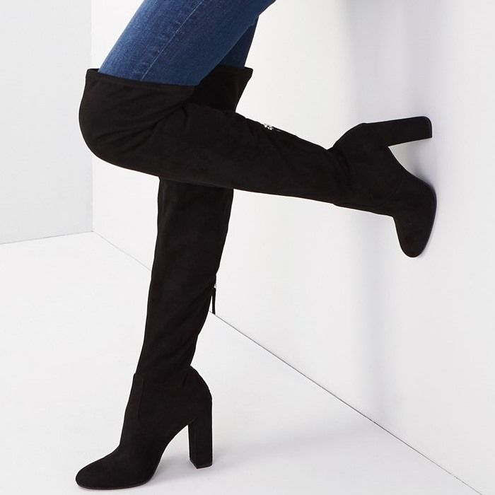 "85929cfc561 Steve Madden ""Emotions"" Chunky Heel Over-the-Knee Boots"