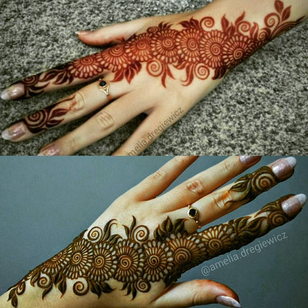 Mehndi Patterns Instagram : See this instagram photo by mehndi hayat likes
