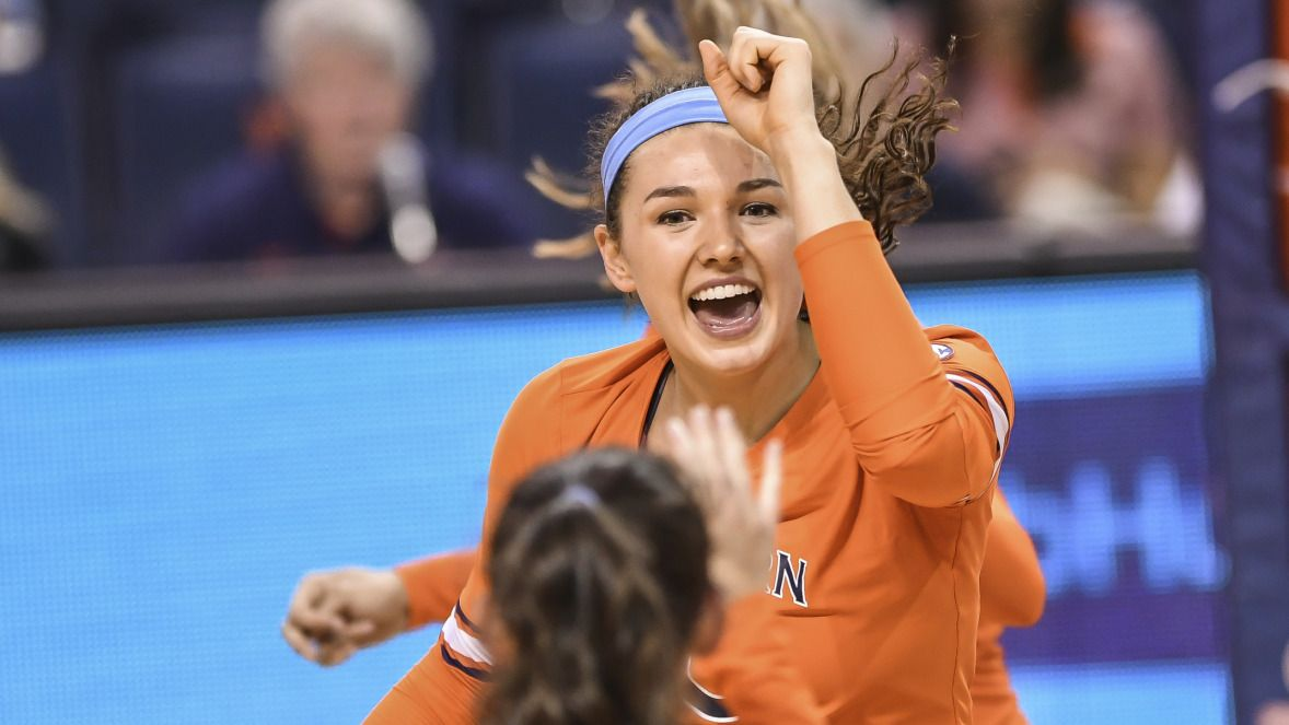 Auburn Tigers Volleyball Outlast Nc State In Puerto Rico 3 2 Auburn Tigers Volleyball Auburn