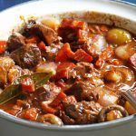 Photo of Old-fashioned stew-Daube à l'ancienne  Preparation: Peel and…