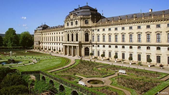 Beliebteste Sehenswurdigkeiten Deutschlands Residenz Wurzburg Germany Palaces Beautiful Castles Germany Castles