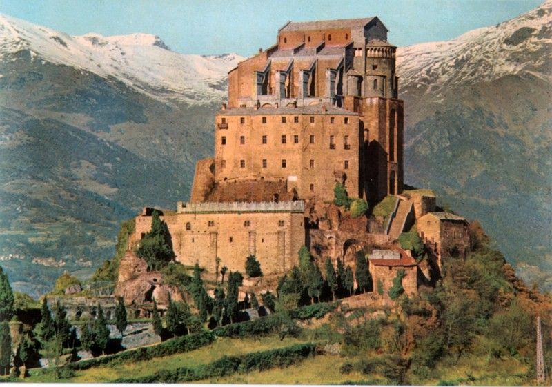 St Michael Abbey, Avigliana, Susa Valley. Sacra di San Michele Turin ...