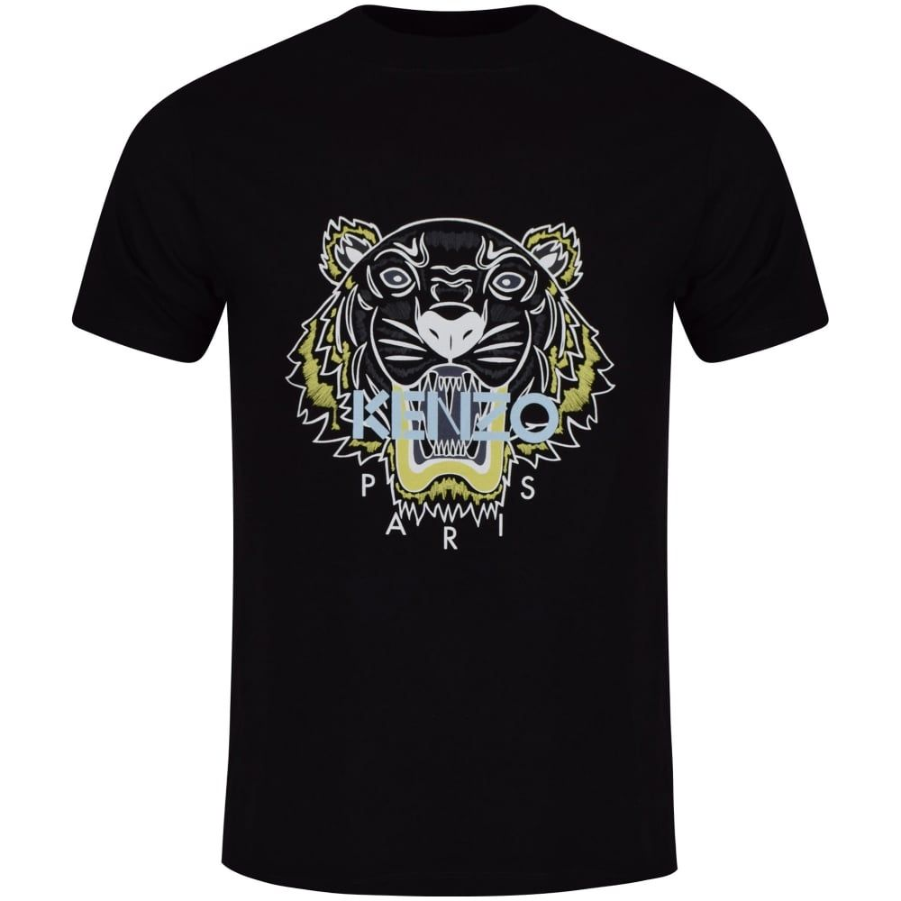 KENZO Kenzo Black Tiger Logo T-Shirt - T-Shirts from Brother2Brother ... 185ca405e2f
