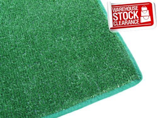10 X10 Square Green Artificial Gr Turf Carpet Indoor Outdoor Area Rug Premium Nylon Fabric Finished Edges Uv Protected Weather And