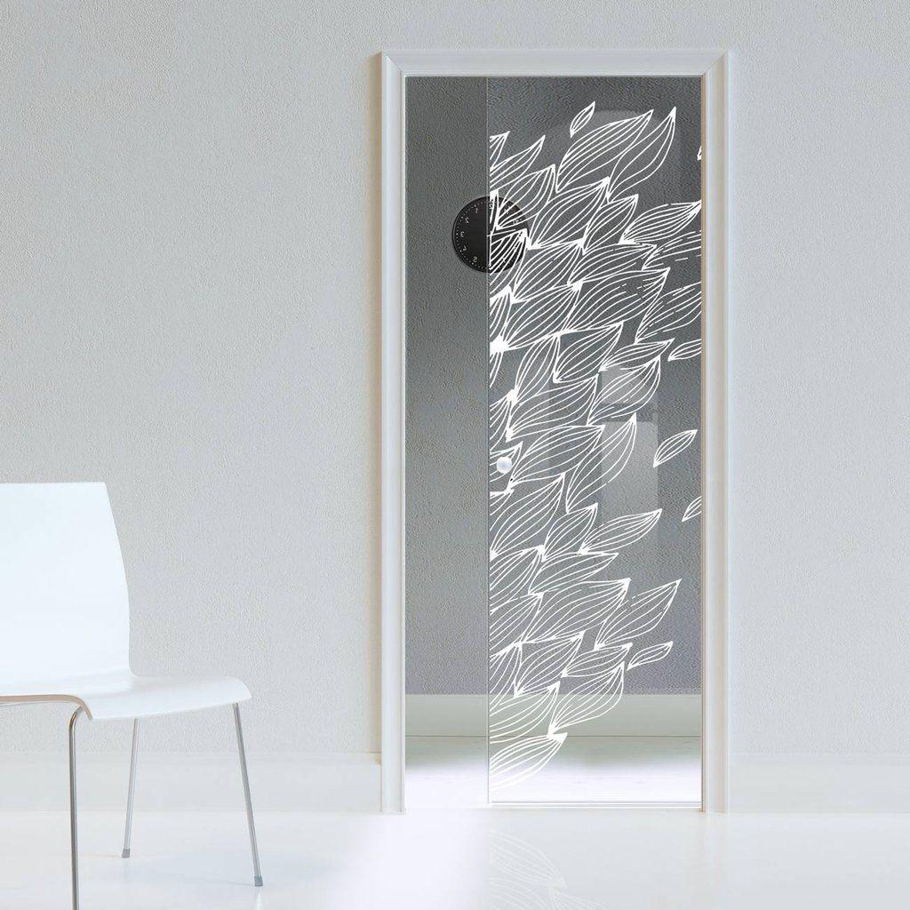 Eclisse 10mm Pupa Sandblasted Design On Clear Or Satin Glass Pocket Door Glassdoor Pocketdoor Glassslidingdoor Glass Pocket Doors Pocket Doors Contemporary Doors