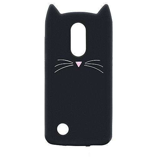 low priced 67b5a 81263 LG K20 Plus K20 V LG Harmony Case Cover,Cute 3D Black Par ...