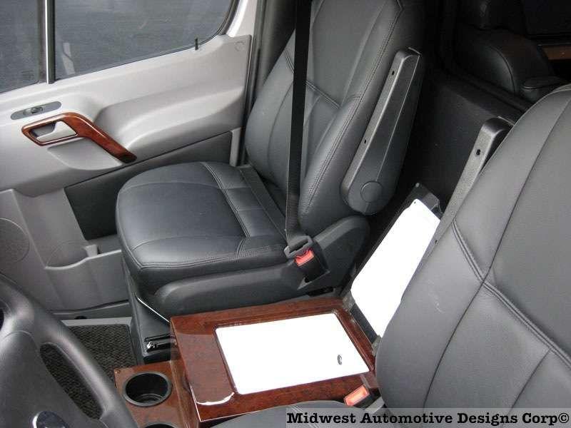 Sprinter Custom Vans Center Console - Luxury Conversion Van   G-55
