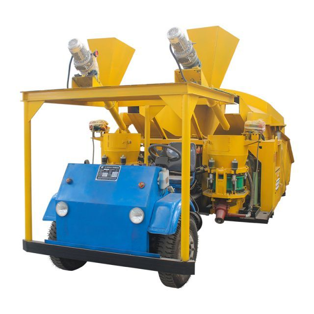 dry shotcrete machine for slop protection   Dry mix