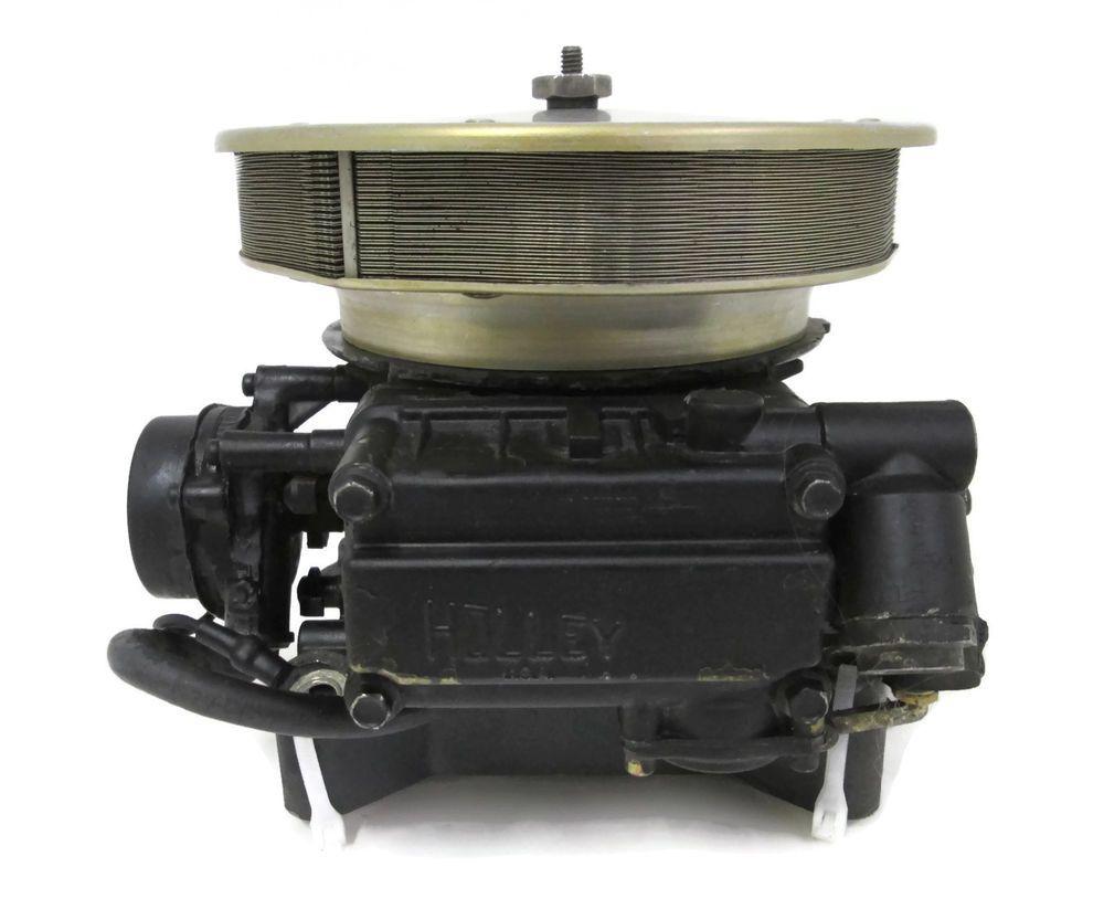 0987013 OMC Cobra Carburetor AY 2BBL 5.0L V8 986865 Holley Carb Arrestor  Spacer