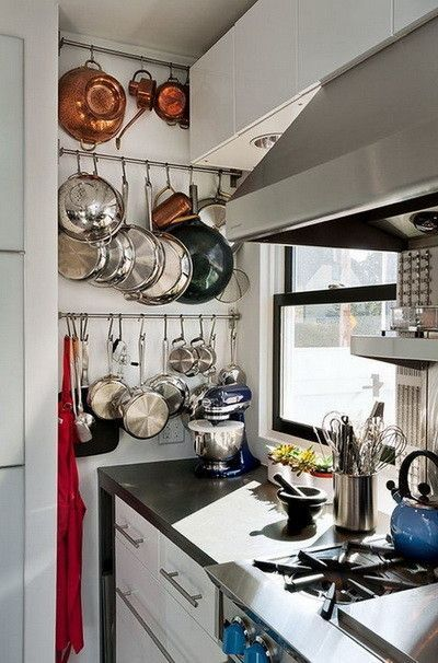 Kitchen pots and pans storage ideas_22