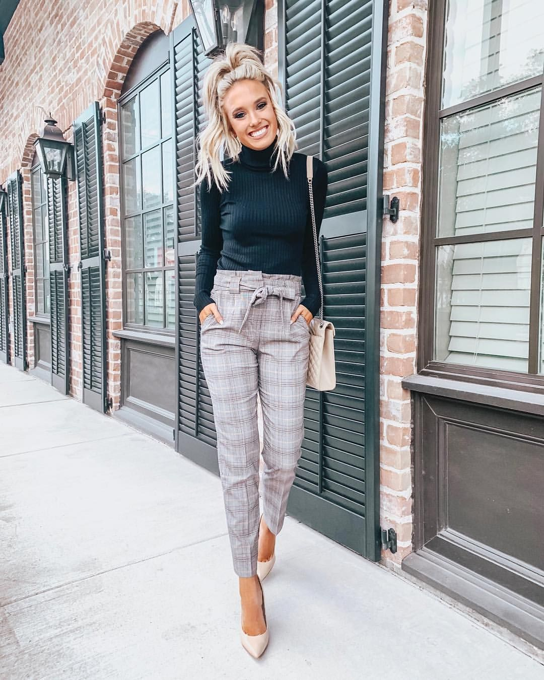 "Emily Herren on Instagram: ""Where are all my business babes at?! This work wear look is on the blog today with @express and all pieces are under $100!…"" #businessattire"