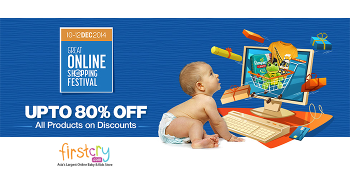7c95d1863993 Get discounts upto 80% Off on all the products on First Cry this GOSF 2014