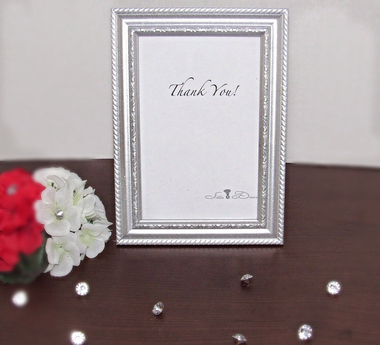 Silver picture frame table number holder table number frame silver picture frame table number holder table number frame bulk picture frames jeuxipadfo Image collections