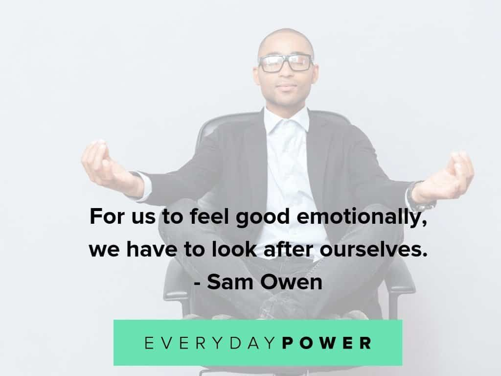 importance of self care quotes