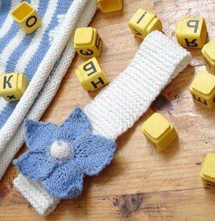 10 вариантов повязки на голову для новорожденных вязаных ...