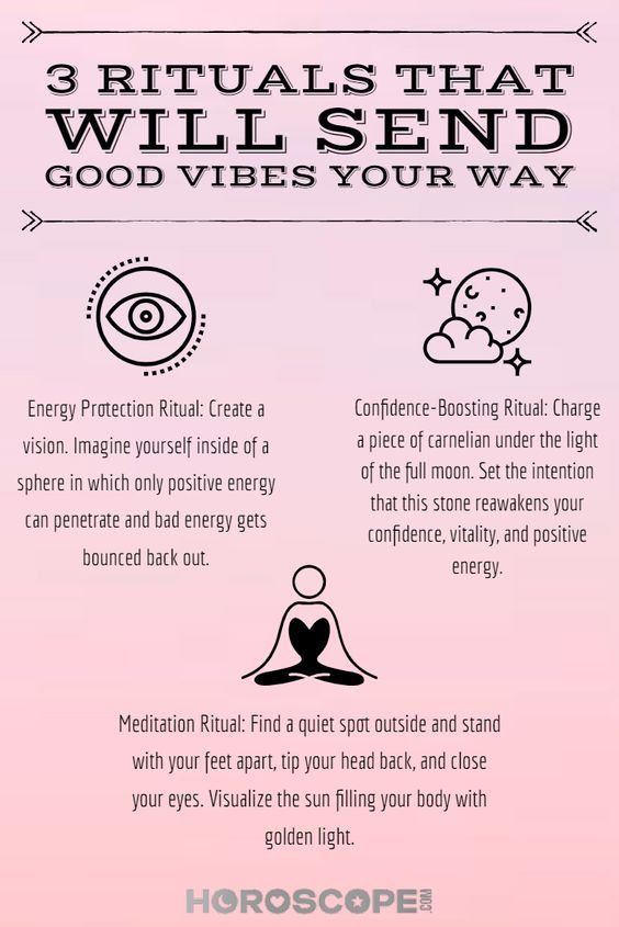3 Rituals That Immediately Send Good Vibes Your Way