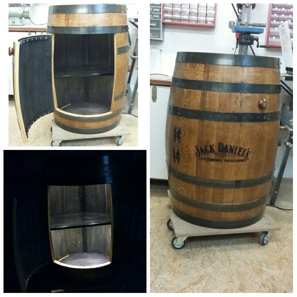 Jack Daniels Fass Zum Barschrank Umgebaut Diy Barschrank Jack