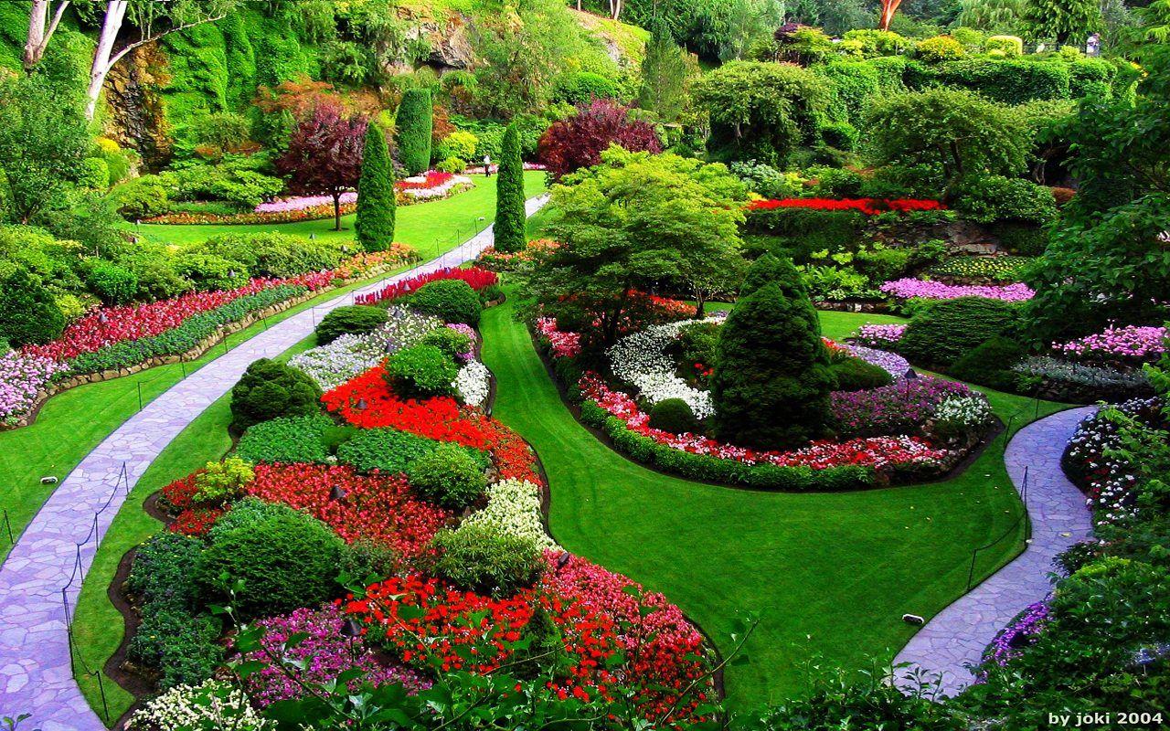 Paisajes hermosos de jardines 1280 800 fotos de for Vegetacion ornamental