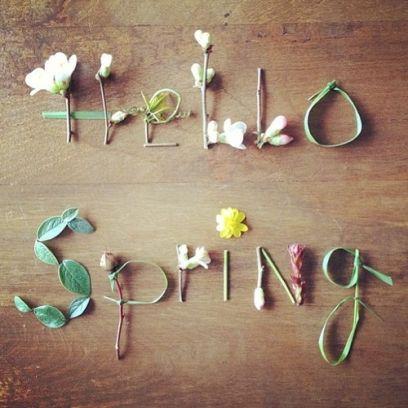 Hello Spring! Καλωσορίζουμε την άνοιξη!