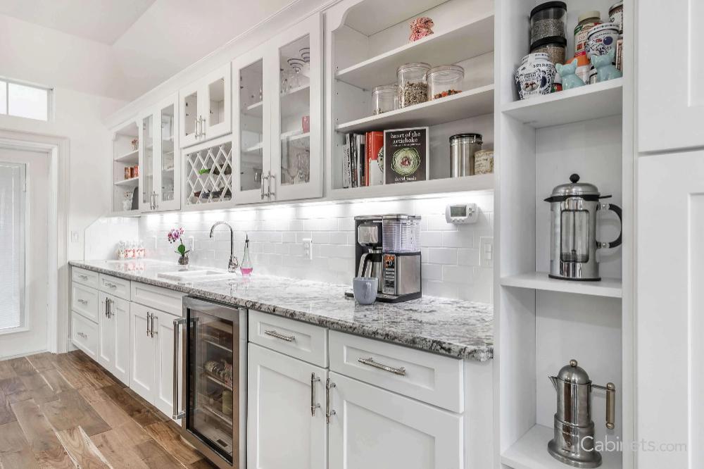 White Framed Kitchen Pictures