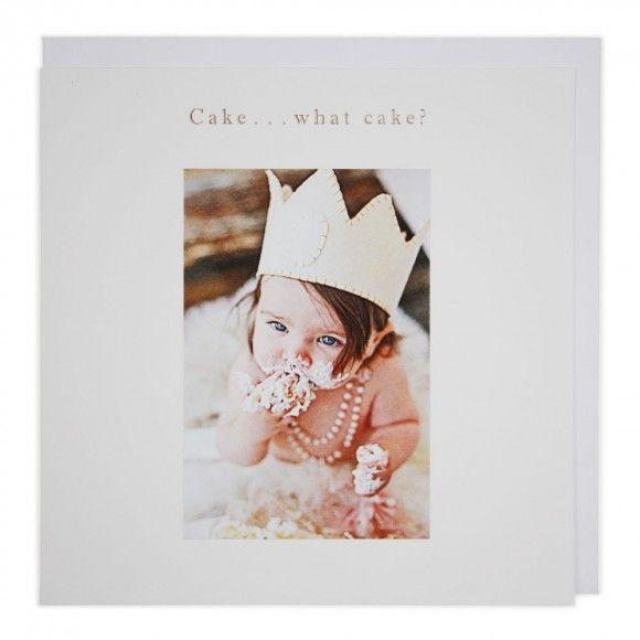 Cake... What cake? birthday card