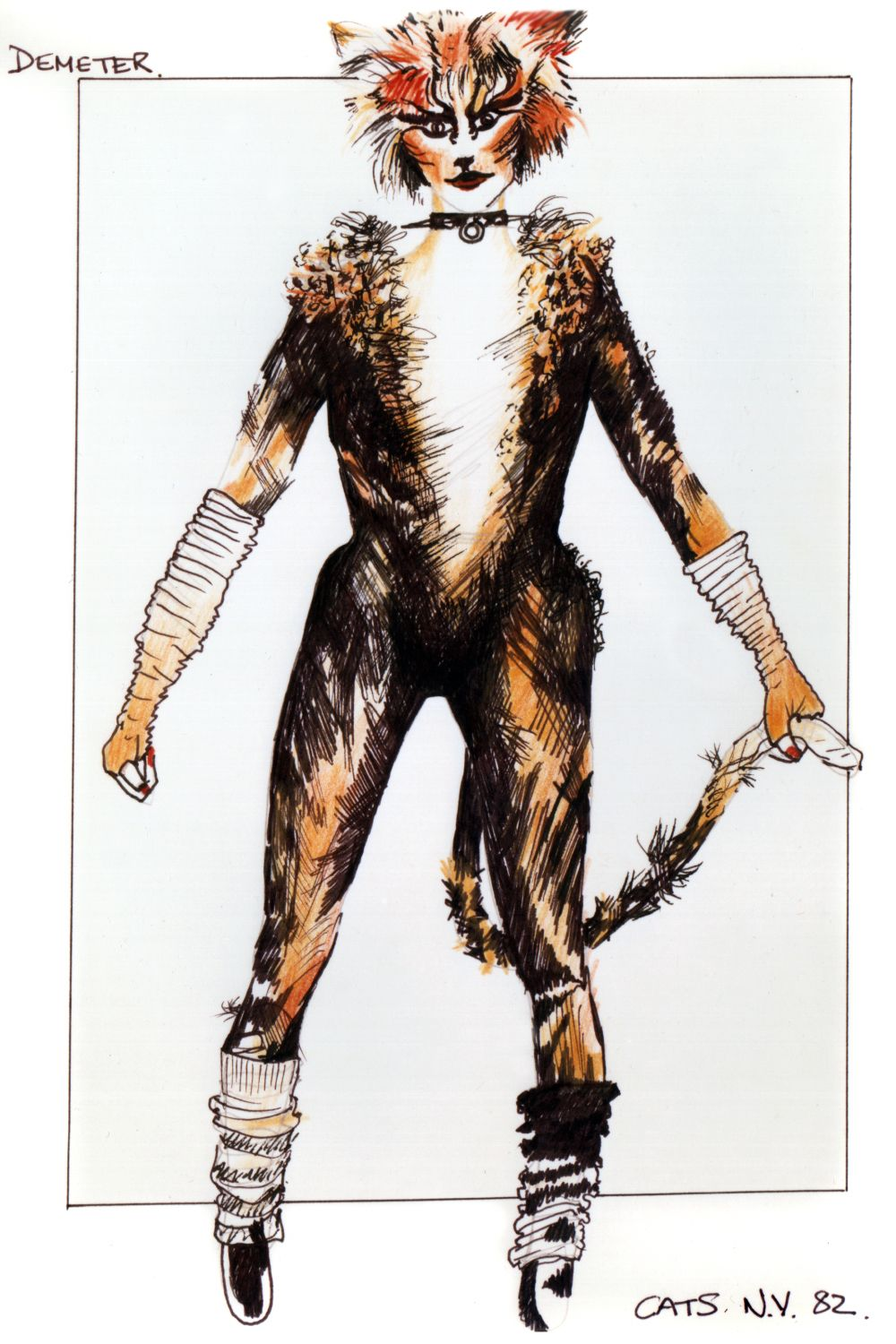 latest (1000×1500) Cats the musical costume, Cats