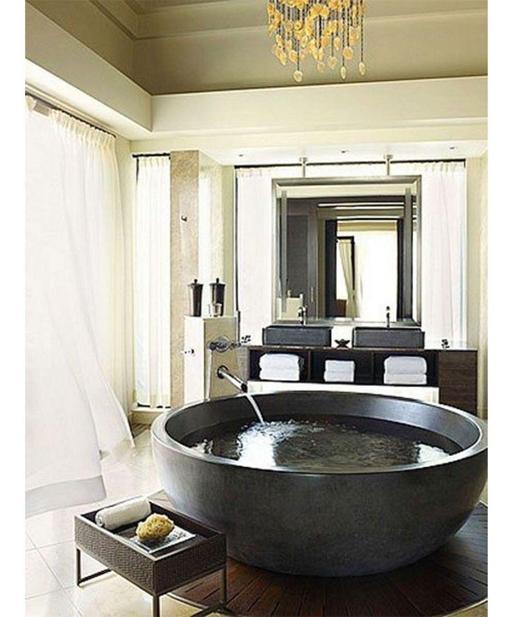 125 Fancy Modern Tub Bathroom Decor Ideas