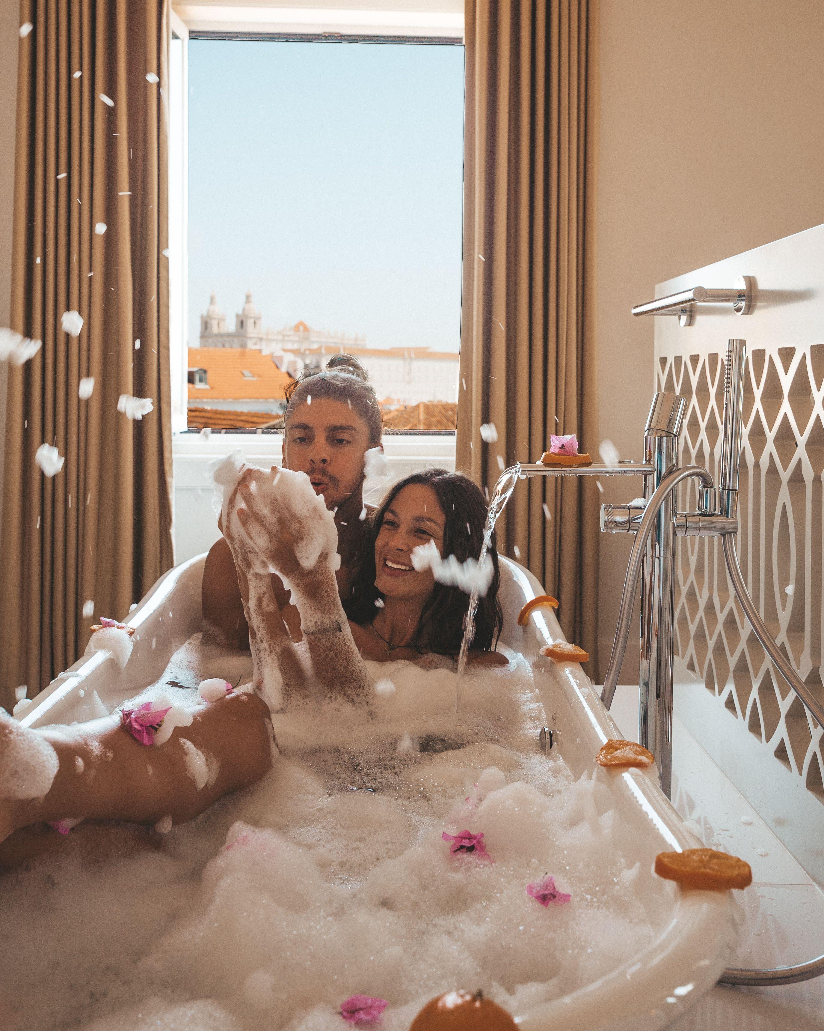 GF In Bath Tub