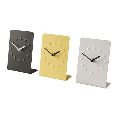 TJENIS Clock Assorted Colours Ikea