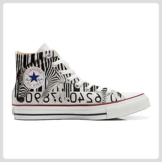 Converse All Star Hi Customized personalisierte Schuhe (Handwerk Schuhe) Chicago Style