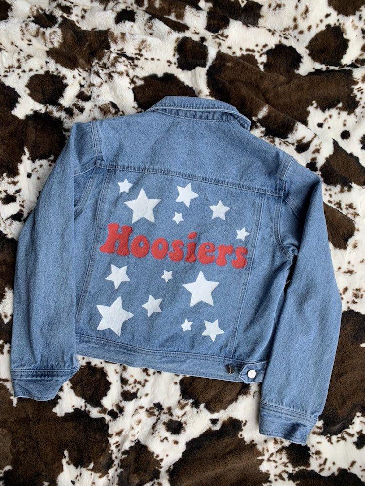 Custom College Denim Jacket | Etsy