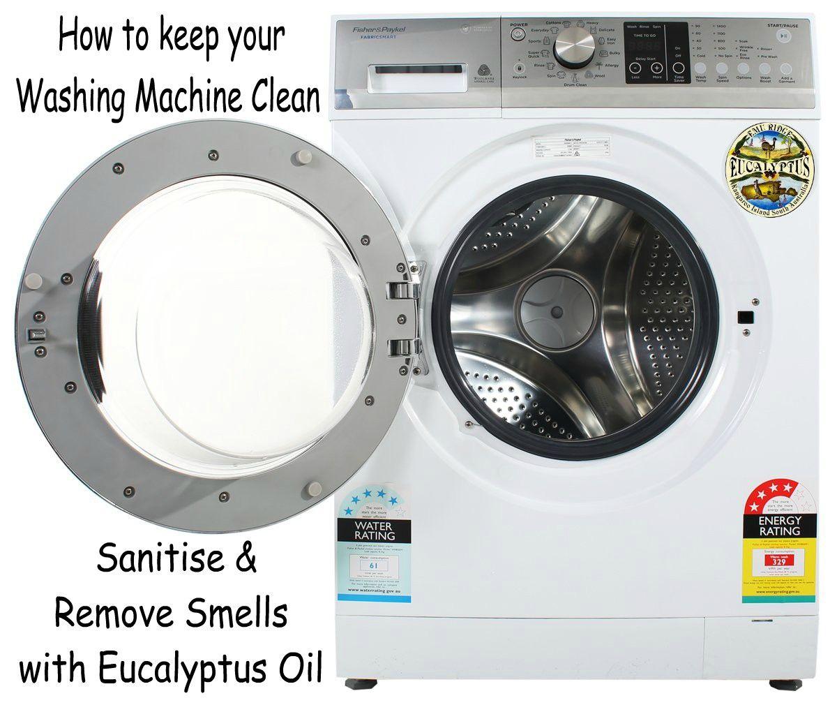 Cleaning your washing machine with Eucalyptus | Emu Ridge ...