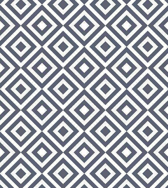 3c9a266e41bd1 Papel de parede em tons azul marinho e branco - Geométrico 24 ...