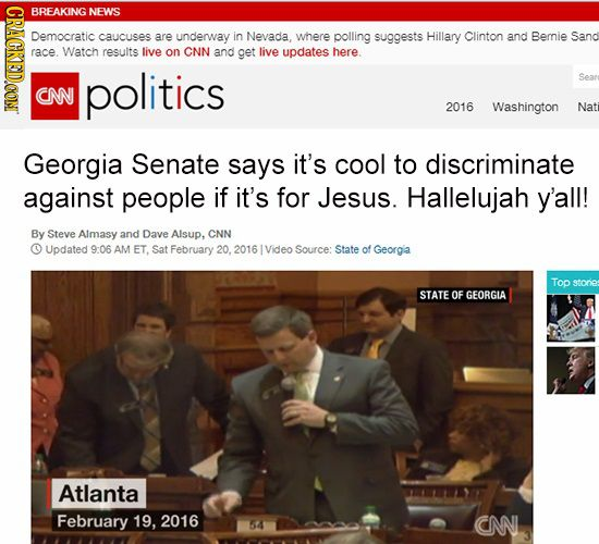 Oh, Georgia.